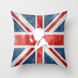 SHERLOCK HOLMES - BRITISH Throw Pillow