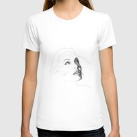 angelina jolie T-shirts featuring Amazing Angelina Jolie Draw by hdesign