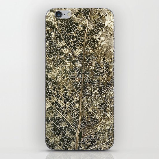 Old gold iPhone & iPod Skin