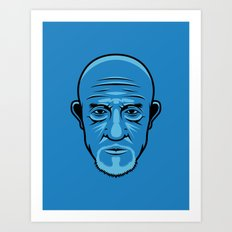 Mike from Breaking Bad Art Print