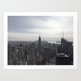 New York City, New York Art Print