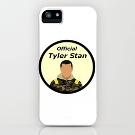 Official Tyler Stan iPhone Case