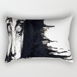 Fright Rectangular Pillow