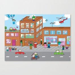 Oekie Street  Canvas Print