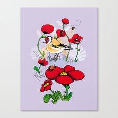 Chardonneret Canvas Print