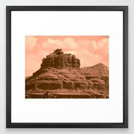 Bell Mountain, Sedona Arizona Framed Art Print