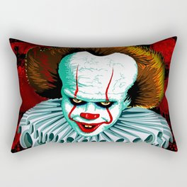 The Dancing Clown - Pennywise IT - Vector - Stephen King Character Rectangular Pillow