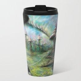 Alien Landscape Travel Mug