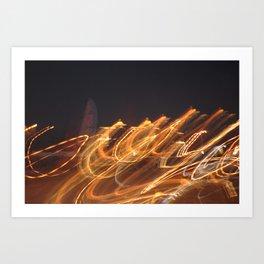 More Lights Art Print