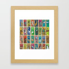 Money Animals Framed Art Print