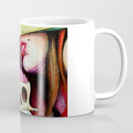 Gods & buffoons (closer) || Eye || Evol || Edge Coffee Mug