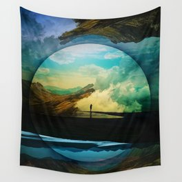 Sphere Reality Wall Tapestry