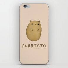 Purrtato iPhone & iPod Skin