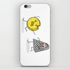 RUN CHEESE WHEEL! iPhone & iPod Skin