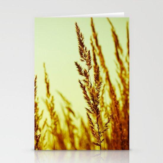 whispering grasses I Stationery Cards