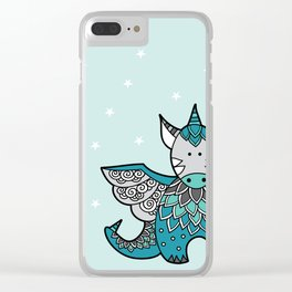 Magical Dragon Clear iPhone Case