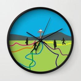 Many Paths to Jesus Wall Clock