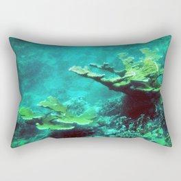Under the Sea Coral Reef Caribbean Rectangular Pillow
