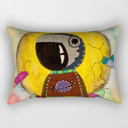 Spatial Mermaid Rectangular Pillow