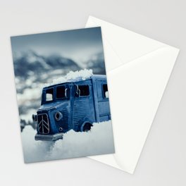 Little Cars, Big Planet (Winter) Stationery Cards