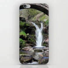 Three Shires Head Waterfall iPhone & iPod Skin