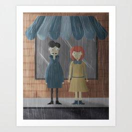 Rafa and Blanca Art Print