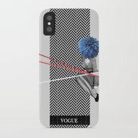 vogue iPhone & iPod Cases featuring Vogue by Frank Moth