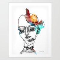 Headache#4 Art Print