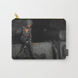 The Time Runs Off Carry-All Pouch
