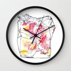 Takeout I Wall Clock