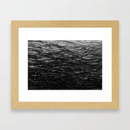 A LIGHT-VOID SEA Framed Art Print