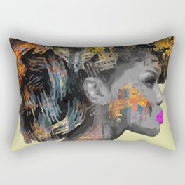 Afro-Girl Rectangular Pillow
