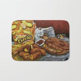 Mac n' Cheetos Omage Bath Mat