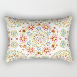 Flower Crown Carnival Rectangular Pillow