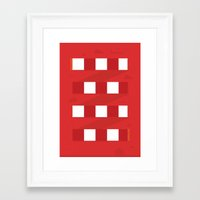 arsenal Framed Art Prints featuring Arsenal FC. by Made by the Waves