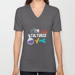 I'm Cultured Unisex V-Neck