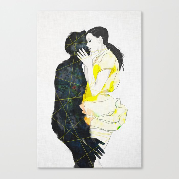 KISS Canvas Print