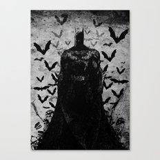 The night rises B&W Canvas Print