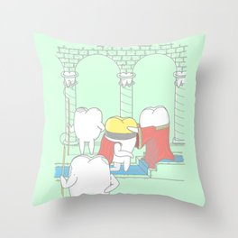 The Crowning Throw Pillow