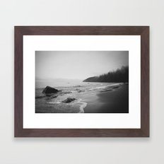 Ocean Beach  Framed Art Print