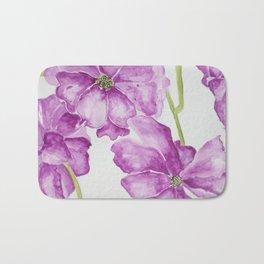 Flower lilac Bath Mat