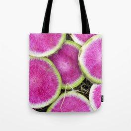Watermelon Radish Tote Bag