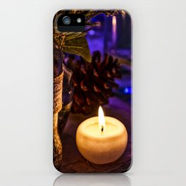 Candle Alone iPhone Case