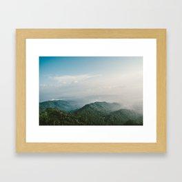 Suroloyo Sunrise Framed Art Print