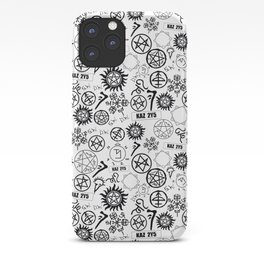 Supernatural Symbols iPhone Case