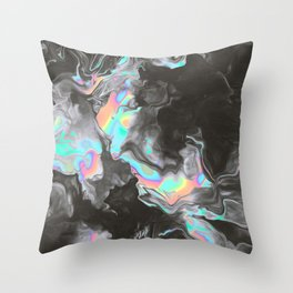 SPACE & TIME Throw Pillow
