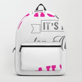 Au Pair It's French For Awesome Backpack