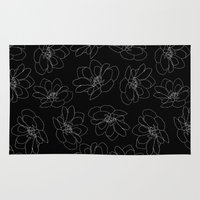 dragonfly Area & Throw Rugs featuring dragonfly by beautifyprints