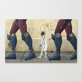 The Mutant Problem Canvas Print