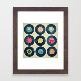 Vinyl Collection Framed Art Print